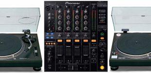 Комплект Винил Technics 1210MK5x2 + Pioneer DJM-800